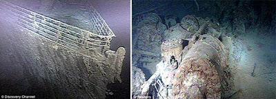 صور لم تشاهدها لسفينة التايتانيك وأمور لم تسمع بها من قبل Titanic ship