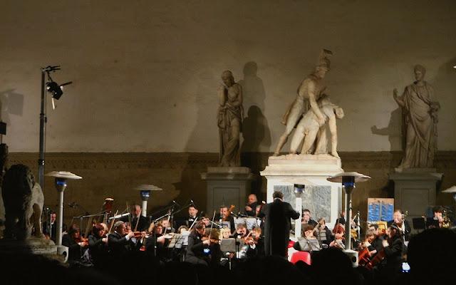 Concerto de Ano Novo em Florença na Itália
