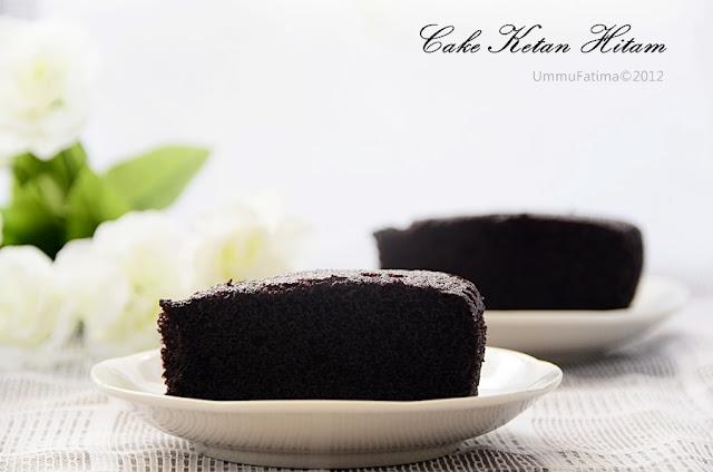 Simply Cooking And Baking...: Cake Kukus Ketan Hitam