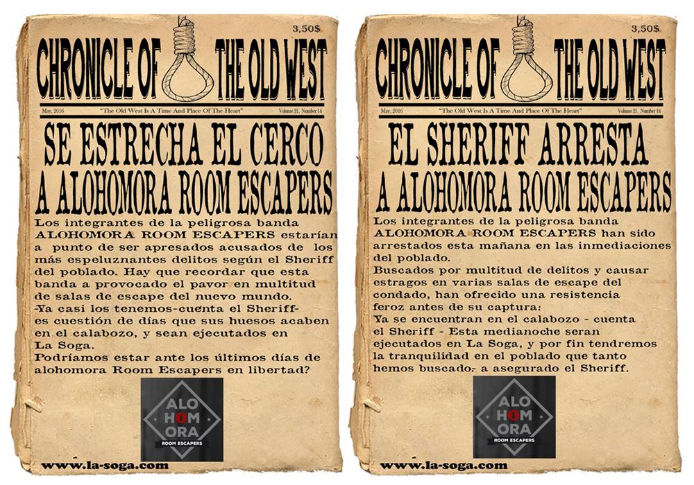 La Soga: Se estrecha el cerco a Alohomora // Escapers