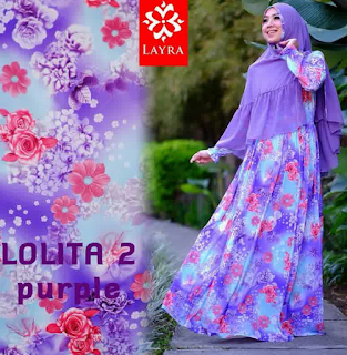 Contoh Model Busana Muslim Wanita Distributor Alaidrous Collection Update