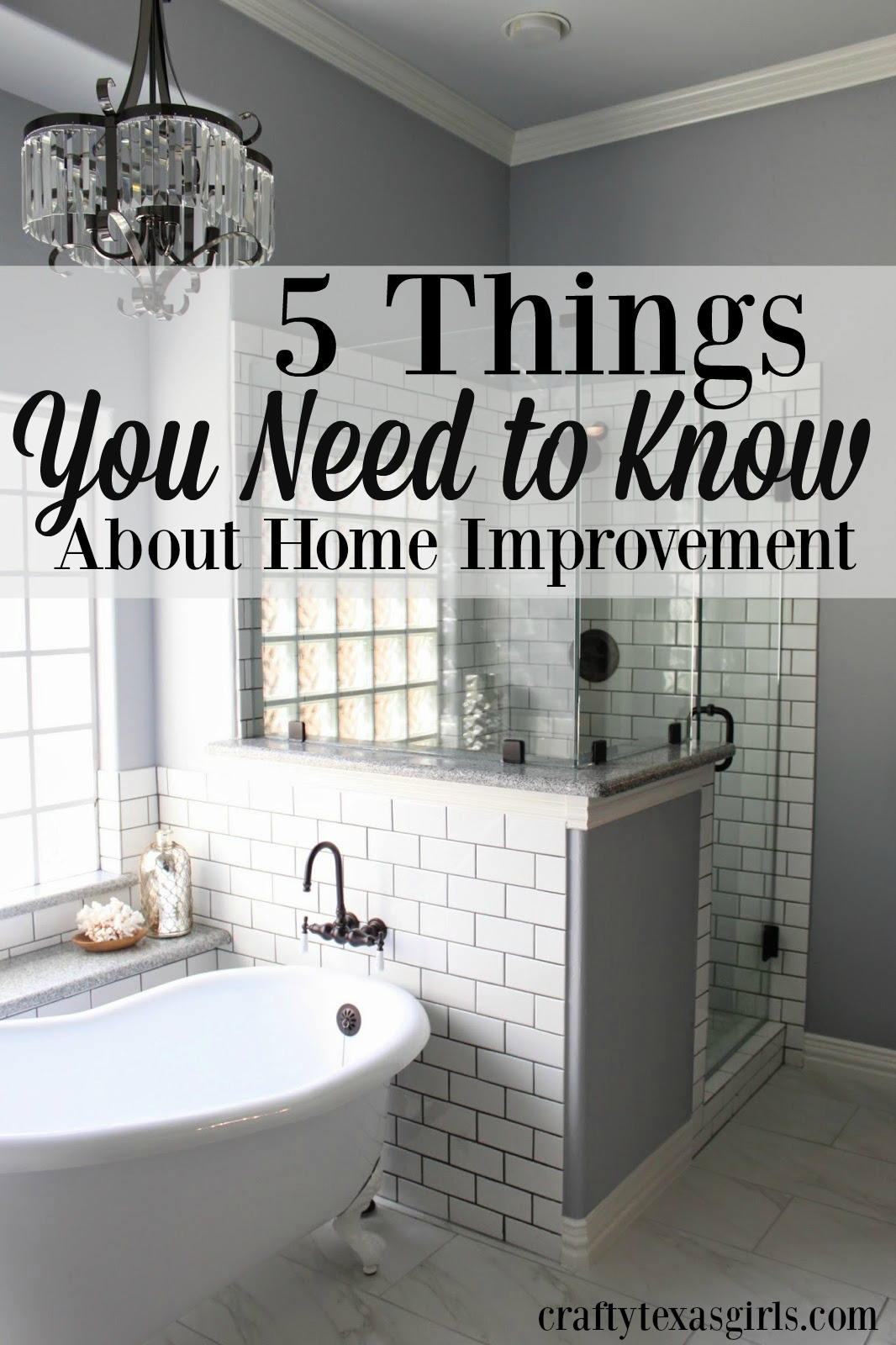Crafty texas girls 5 things you need to know about home for Home need things