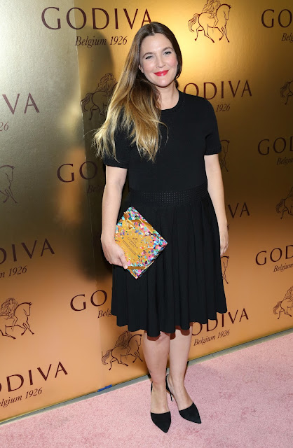 Actress, Model, @ Drew Barrymore At Godvia's 90th Anniversary At Marlborough Gallery In New York