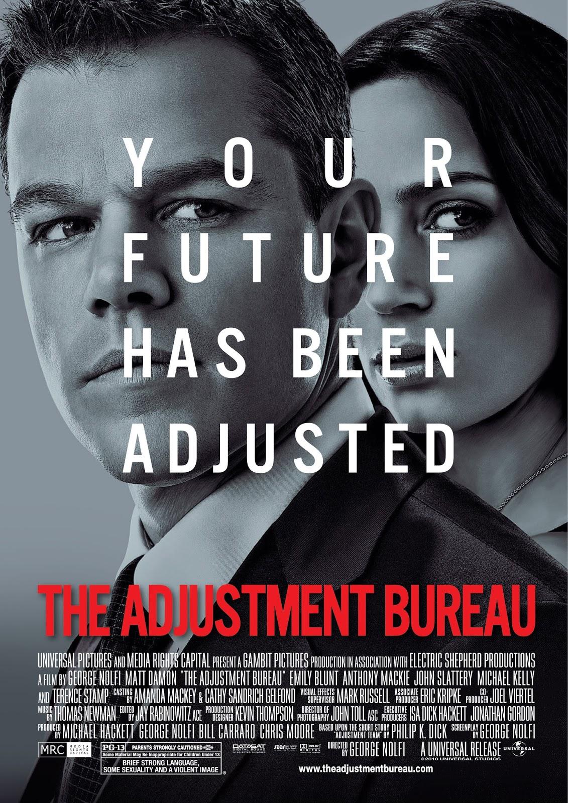 The Adjustment Bureau พลิกชะตาฝ่าองค์กรนรก [HD][พากย์ไทย]
