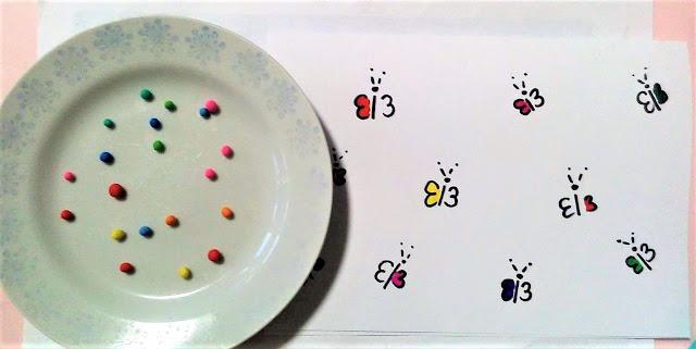 zabawy lewopółkulowe dla dzieci, plastelina