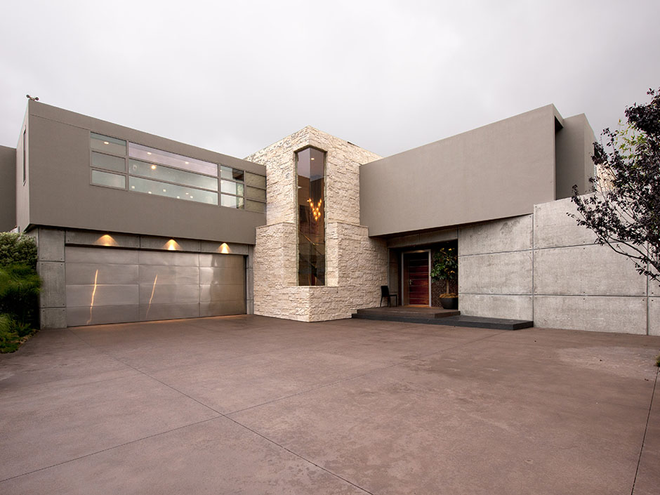 Picture Of The Driveway And Entrance In Modern Guest House
