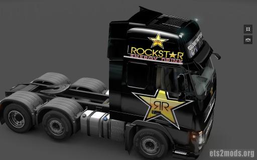 Rockstar Energy Volvo Skin
