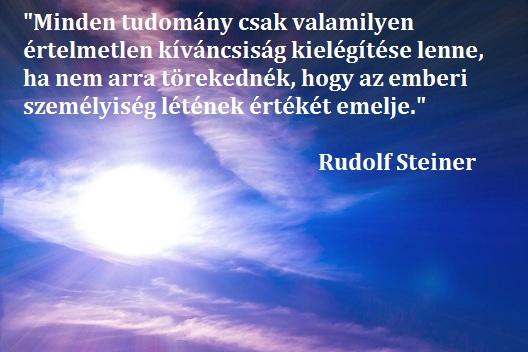 Rudolf Steiner a szabadság filozófiájáról