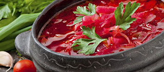 Borsch rural / Ukrainian version