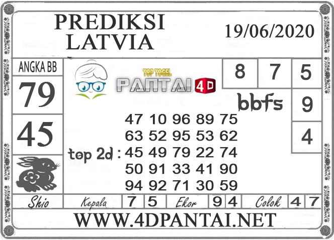 PREDIKSI TOGEL LATVIA PANTAI4D 19 JUNI 2020