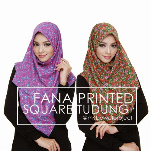 MARCH 2015 | FANA PRINTED SQUARE TUDUNG
