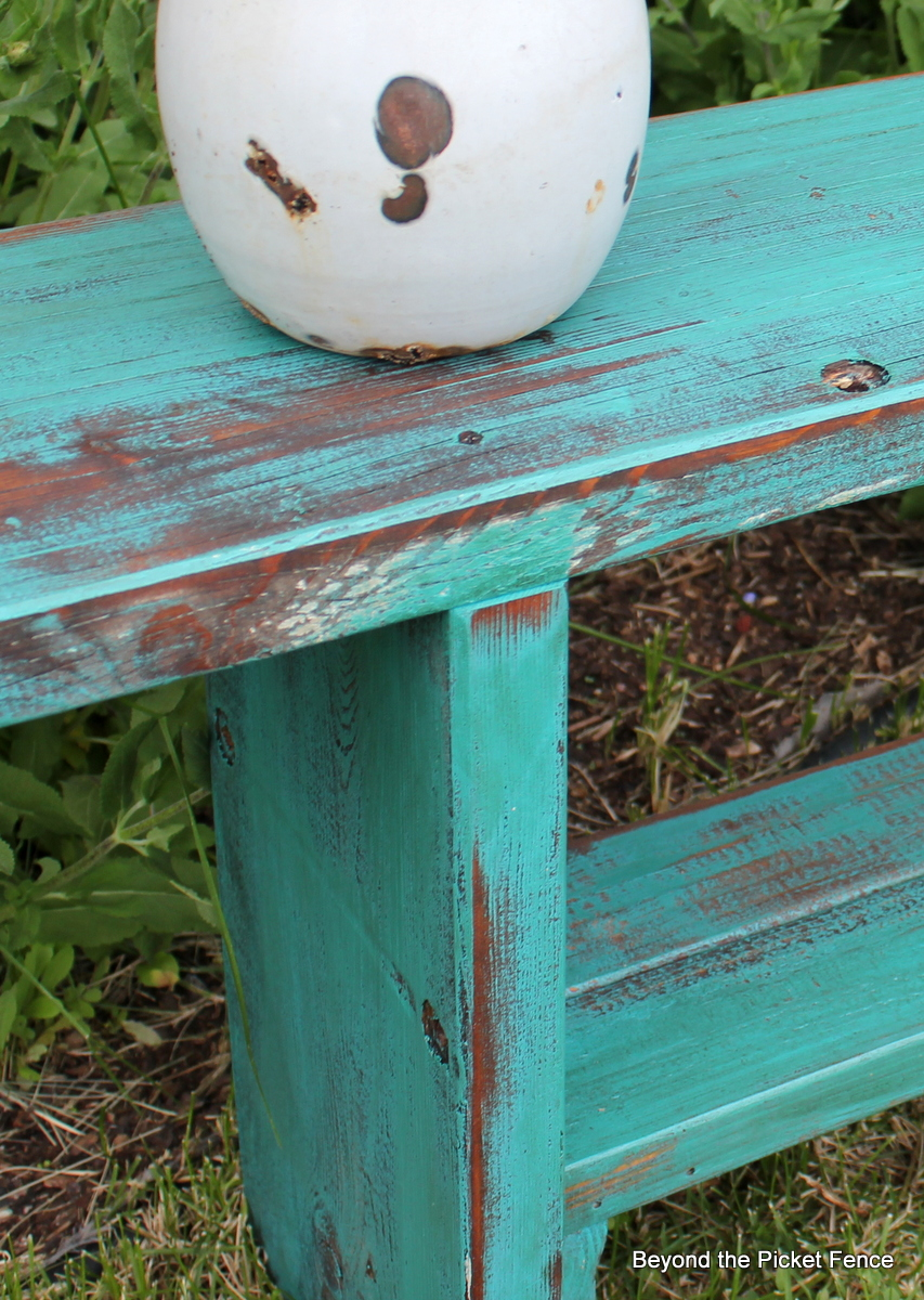 Beyond The Picket Fence From Picnic Table To Bench