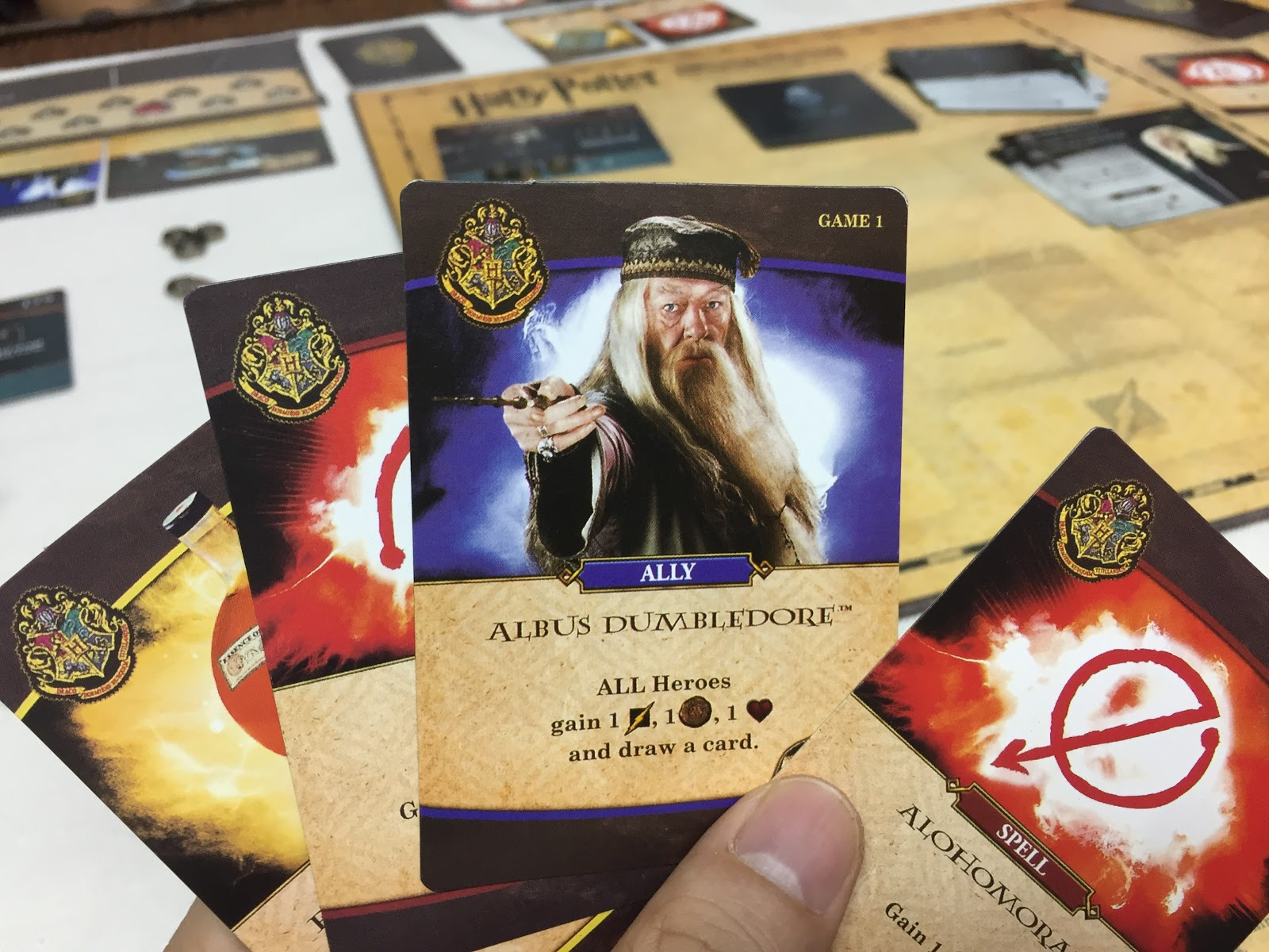 Hiew S Boardgame Blog Harry Potter Hogwarts Battle