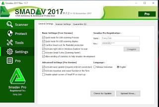 Smadav Pro Terbaru full serial number