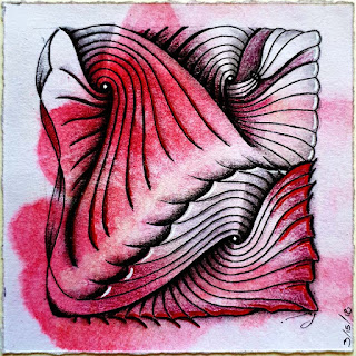 DIVA Challenge #355 with tangle pattern Verve