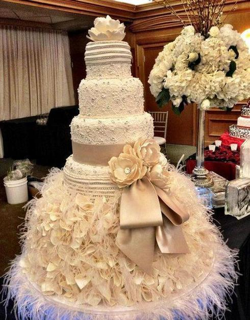 12 Ultimate Couture Wedding Cakes Divided into 3 Styles | Wedding ...