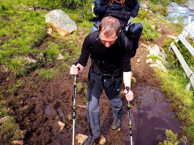 Bahno, příroda, náročnost, Norsko, národní park, Jotunheimen