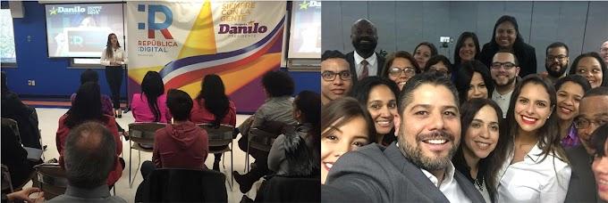 """Jóvenes dominicanos impactados por """"República Digital""""; presentan proyecto en Nueva York"""
