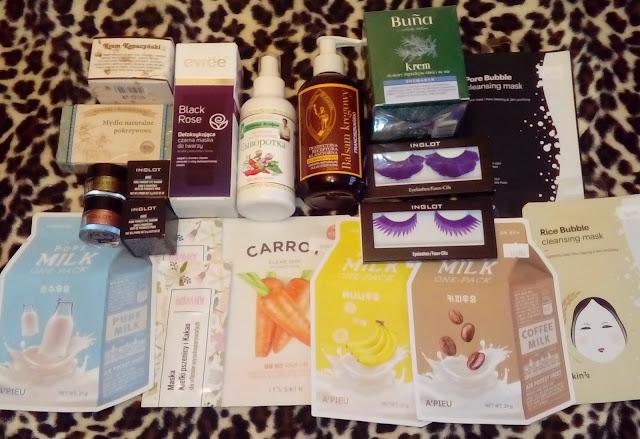 Kosmetyczne zakupy styczniowe HAUL :)
