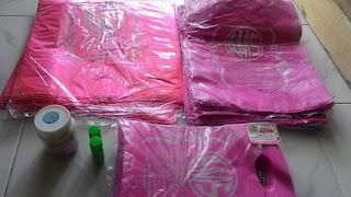 plastik sablon Amanah MOslem Store siap kirim ke Palembang assalaampro.com