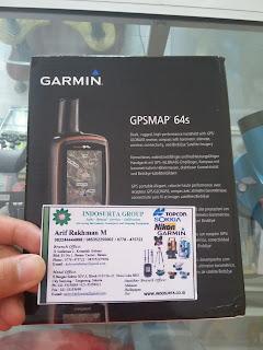 JUAL GPS GARMIN 64S UNTUK UKUR LUAS LAHAN / TANAH