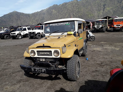 Kendaraan Wisata Khas Di Bromo