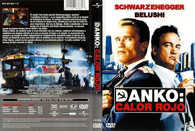 Cover, dvd, carátula: Danko: Calor rojo | 1998 | Red Heat