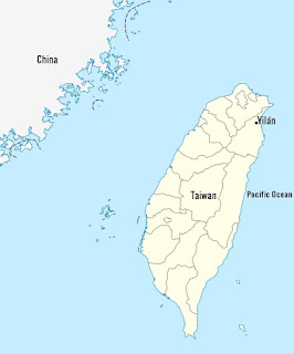 Strategic location of Yilan