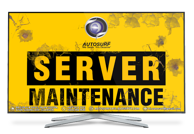 #MaintenanceNotice