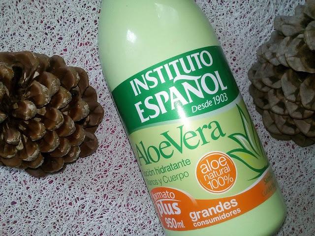 Balsam do ciała Aloe vera marki Instituto Espanol