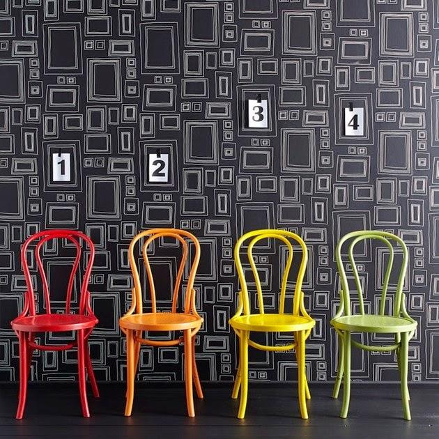 Ide Desain Pola Wallpaper Dinding Cantik