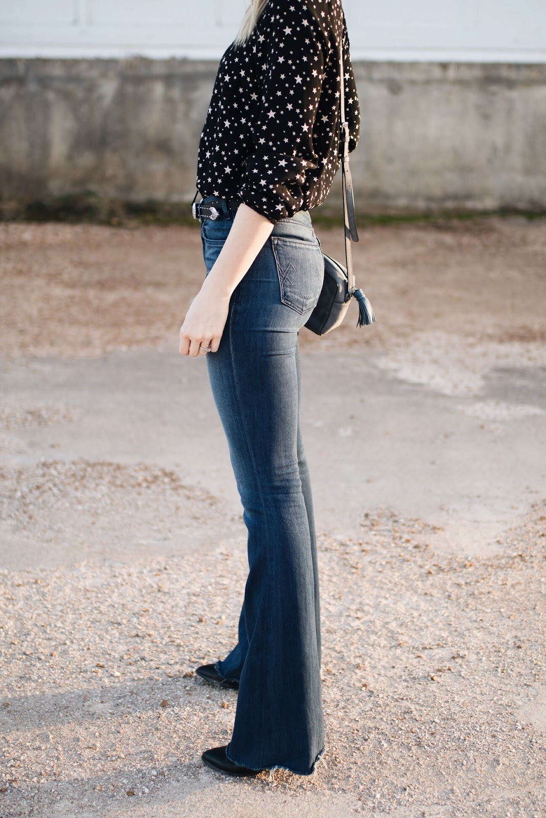 Long flare jeans by McGuire Denim