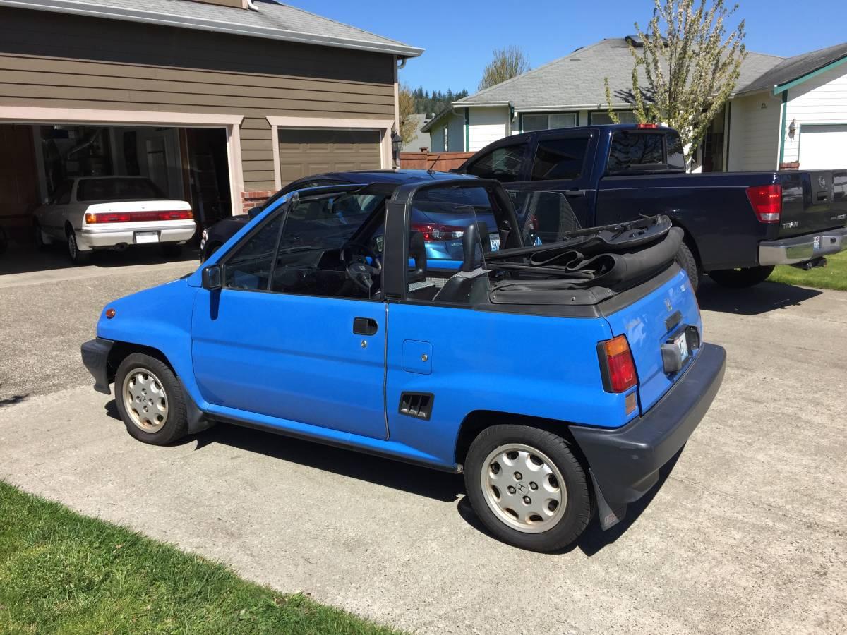 Daily Turismo: Wrong Side Driver: 1985 Honda City Cabrio