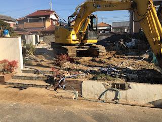 解体工事 三重県自然素材の家 みのや