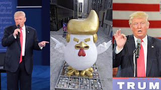 Pic Of The Day: Trump lookalike Rooster Statue!
