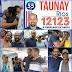 Nota de agradecimento de Taunay Rios
