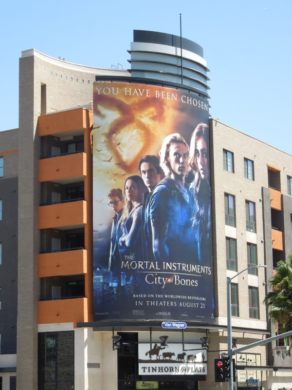 Mortal Instruments City of Bones billboard
