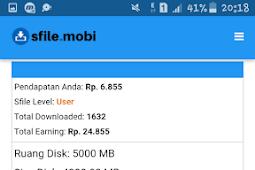 Cara Mendapatkan Pulsa Gratis dari Upload Files ke Internet (Sfiles.Mobi) | Nuyul Online