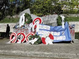 Γιάννενα: Πανεπιστήμιο Ιωαννίνων - Κατάθεση στεφάνων γιια την 44η επέτειο της Φοιτητικής εξέγερσης του Πολυτεχνείου