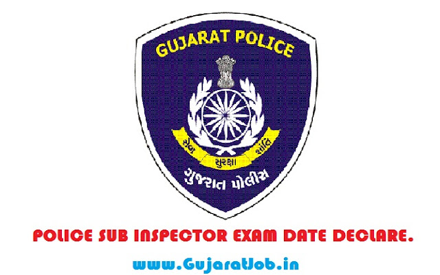 POLICE PSI / ASI SUB INSPECTOR EXAM DATE DECLARED