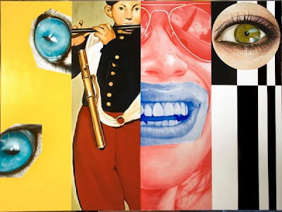Pintura hiperrealista de Victor Rodriguez arte moderna