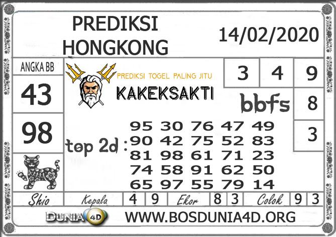 Prediksi Togel HONGKONG DUNIA4D 14 FEBRUARI 2020