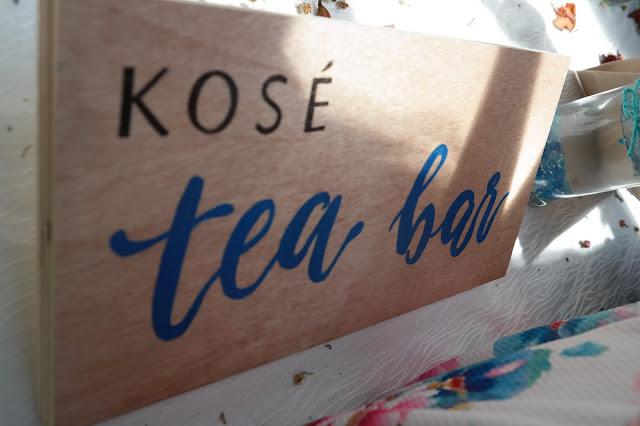 tea bar,