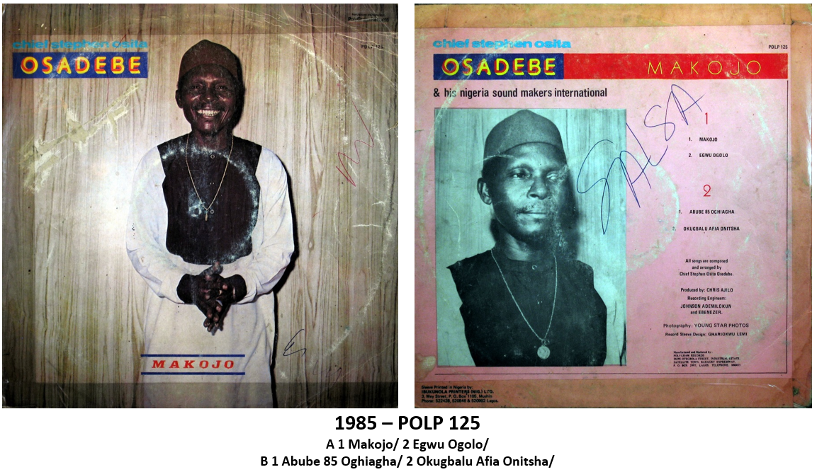 AfricOriginal: Chief Stephen Osita Osadebe: 1936 - 2007