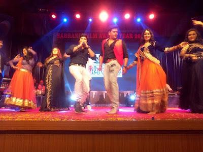 Ravi Kihsan, Anjana Singh, Poonam Dubey, Ritu Singh  photos of Sabrang Samaroh Film Award