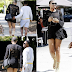 EJ Johnson steps out in mini dress, showing his butt cheeks