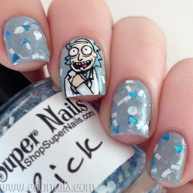 Supernails-Rick in a Bottle