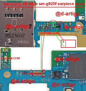 Samsung S6 Edge speaker problem solution diagram