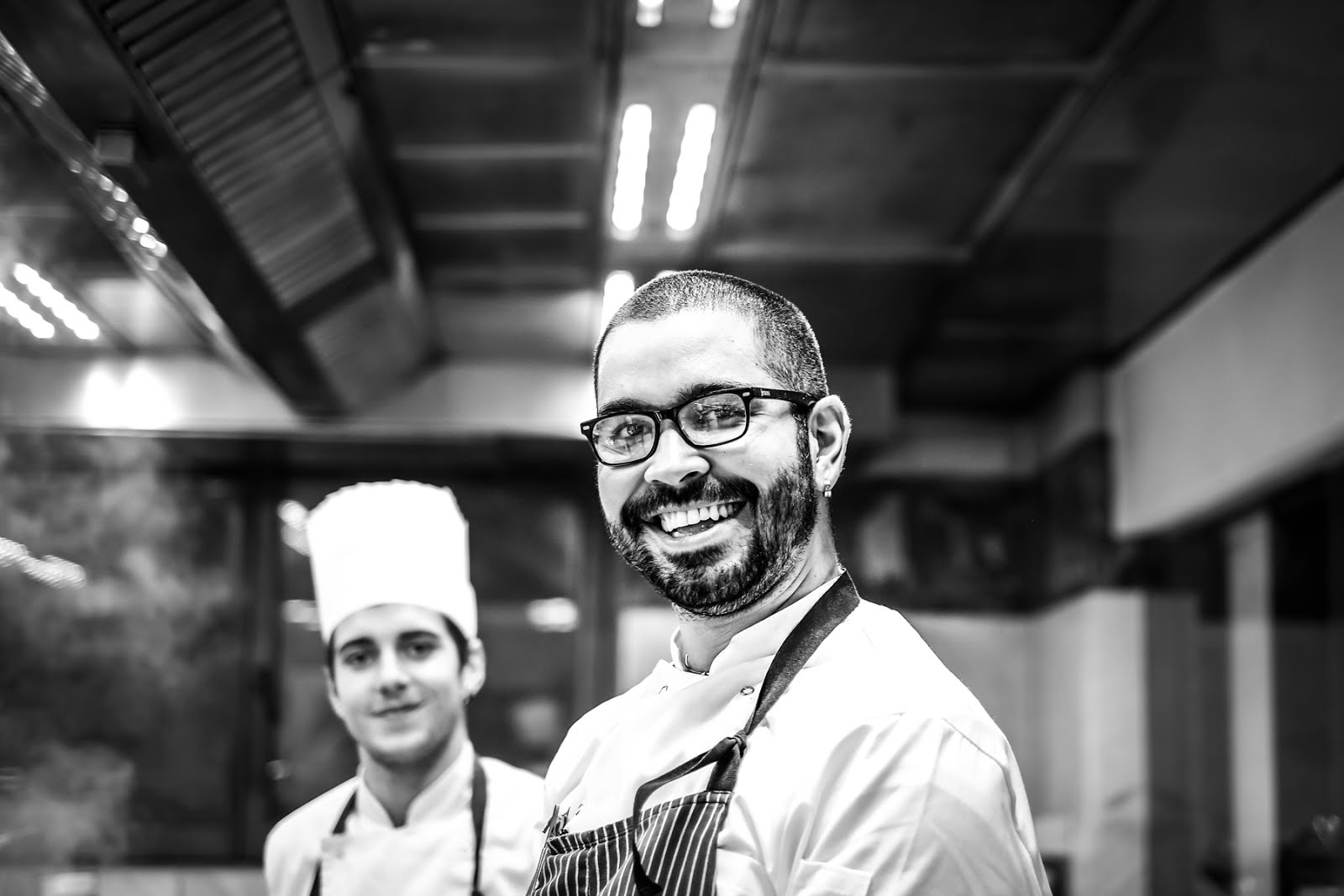 Chef, staff, volti, sorrisi