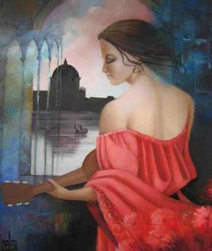 Французский художник. Pierre Chevassu